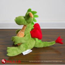 Juguete de peluche de dinosaurio de peluche