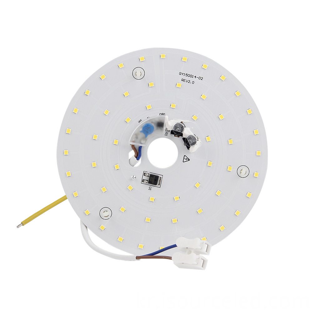 Front of SMD 2835 Warm white 15W AC LED Module