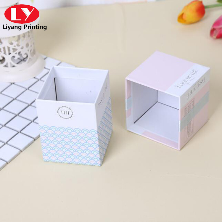 Pink And Blue Gift Box