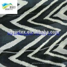 Tela de rayas patrón impreso