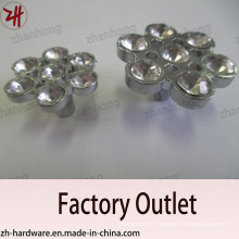 Factory Direct Sale Zinc Alloy Cabinet Handle with Diamond (ZH-1201)