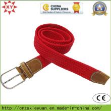 Boucle de ceinture en cuir élastique décontractée