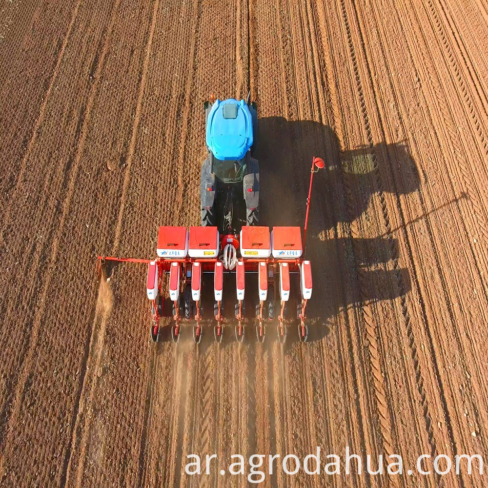 Model 2BMYFQ-8 Pneumatic Precision Planter