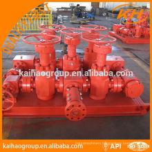 api 16C choke manifold for oilfield equipment
