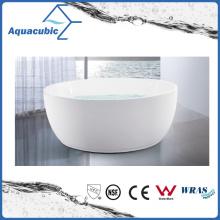 Bathroom Acrylic Circular Freestanding Bathtub (AB6832)