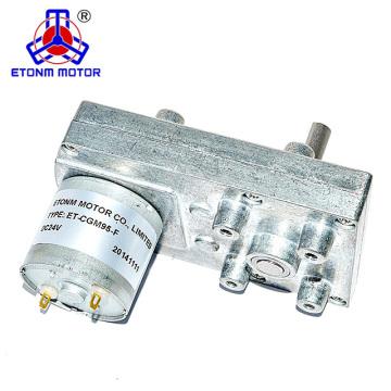 Niedriger Preis Flachgetriebe pm DC Motor DC Getriebemotor 12V 30 U / min