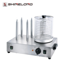 Europe Design Commercial Automatic Roller Hot Dog Grill Machine