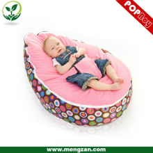 Bebé cama bolsa de frijol bolsa de terciopelo suave bean bag