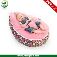 Saco de feijão de cama de dormir do bebê saco de feijão de veludo macio de veludo saco