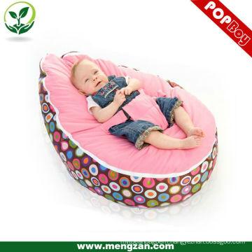 Baby sleeping bed bean bag soft velvet baby cot bean bag