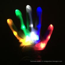 gants à doigts légers