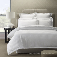 Wholesale Cheap Striped 100% Cotton Hotel Collection Bedding
