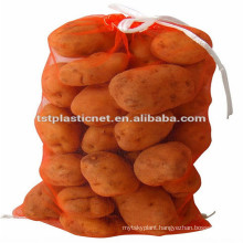 HDPE monofilament food grade mesh bags for fruit and vegetable