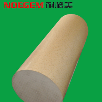 Natural color PEEK plastic rod