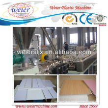 CE certificated pvc ceiling making machine
