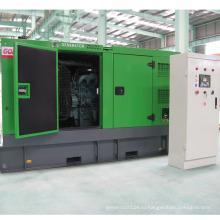 Вода Охладила Молчком Тепловозный комплект генератора с двигателем Doosan (320 кВт/400 ква)