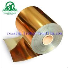 Пленка металлизированная ПВХ золото и серебро для лотка Buscuit