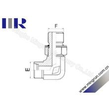 Adaptador ajustável do tubo da linha métrica do cotovelo de 90 graus (1CH9)