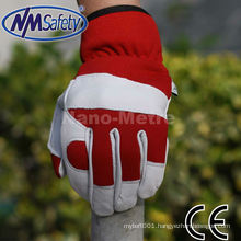 NMSAFETY goatskin leather working gloves