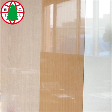 Top-graged UV laminatded MDF board for kitchen cabinet