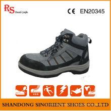 Sapatos de segurança estilo britânico para trabalhadores, Botas de segurança moda para mulheres RS018