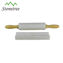 natural stone marble rolling pins with base holder