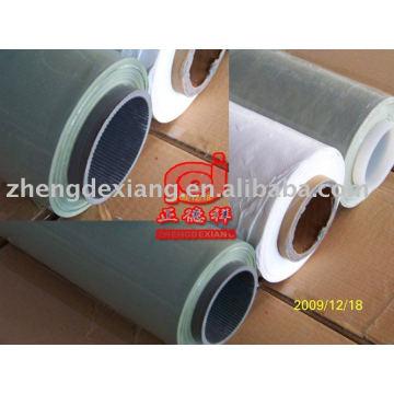 Green silage wrap film