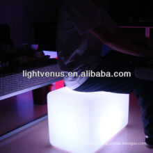 China Manufactuer RGB Color Changing LED Bench Seat