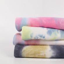 Tie Dye Sweatshirt Fabric Cotton Tie Dye Fabric French Terry Fabric for Garment