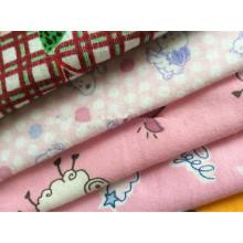 """100% tela teñida algodón 20 * 10 40 * 42 57/58 """"tela de la franela del bebé"""