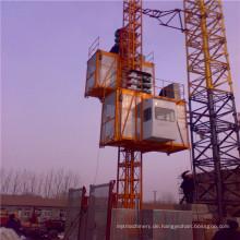 Sc200 / 200 Doppelkäfig Bau Gebäude Hebezeug / Baumaschinen