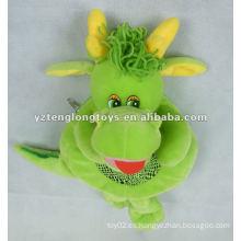 Bolsos encantadores de la felpa del niño del dragón de la historieta