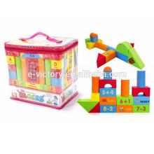 74 pcs DIY Building Block EVA Foam Building Block Children Building Blocks