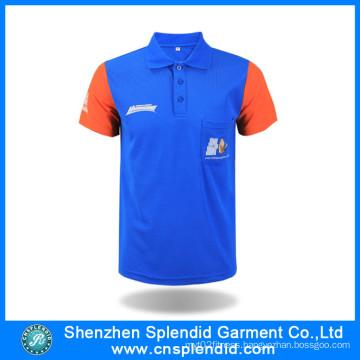 Cheap Custom Color Combination Pique Cotton Polo Shirt