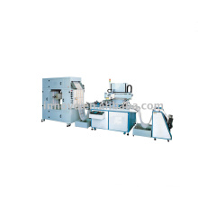Roll loading material screen printing machine