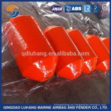 Orange Color Marine EVA Filled Fender para barcos