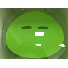 Novos produtos verde aloe fibra máscara facial folha aditivo livre