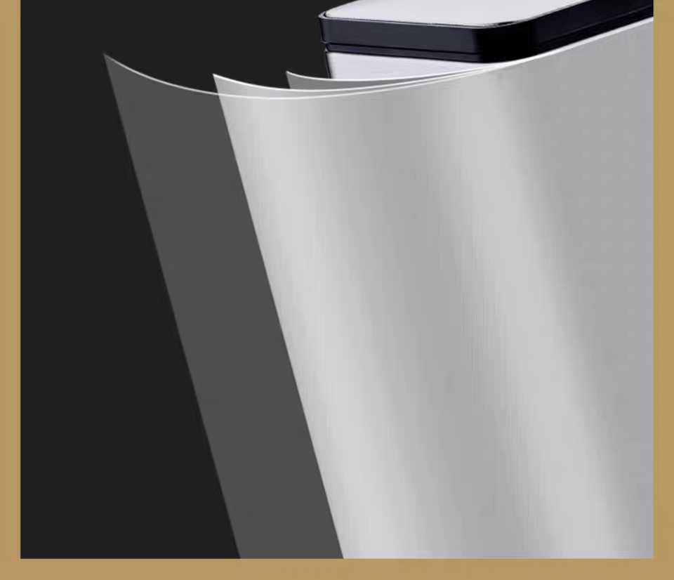 430 Stainless Steel Rubbish Bin