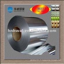 Papier d'aluminium pharmaceutique