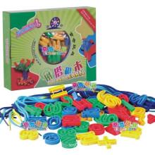 SGS EN 71 Niños threading digital y juguete bloque de lacing