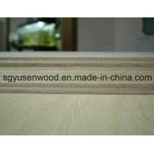 La madera contrachapada del centro de la madera dura laminada de 18m m ambos lados