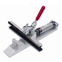 Tamprinter pneumático grampo esticador de tela Mesh máquina de alongamento