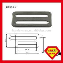 SS613-3 Fivela rápida ajustável ajustável em aço inoxidável