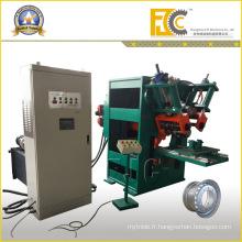 Industrie agricole 5 ° et 15 ° DC Machine de fabrication de jante de roue sans chambre à air