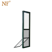 Upward replacement double hung american style window