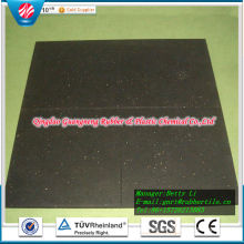 Square Rubber Floor Tile Rubber Stable Tiles Outdoor Rubber Tile Playground Rubber Flooring