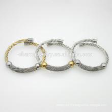 Bracelet ajustable en acier inoxydable en acier inoxydable 2016 GSL007