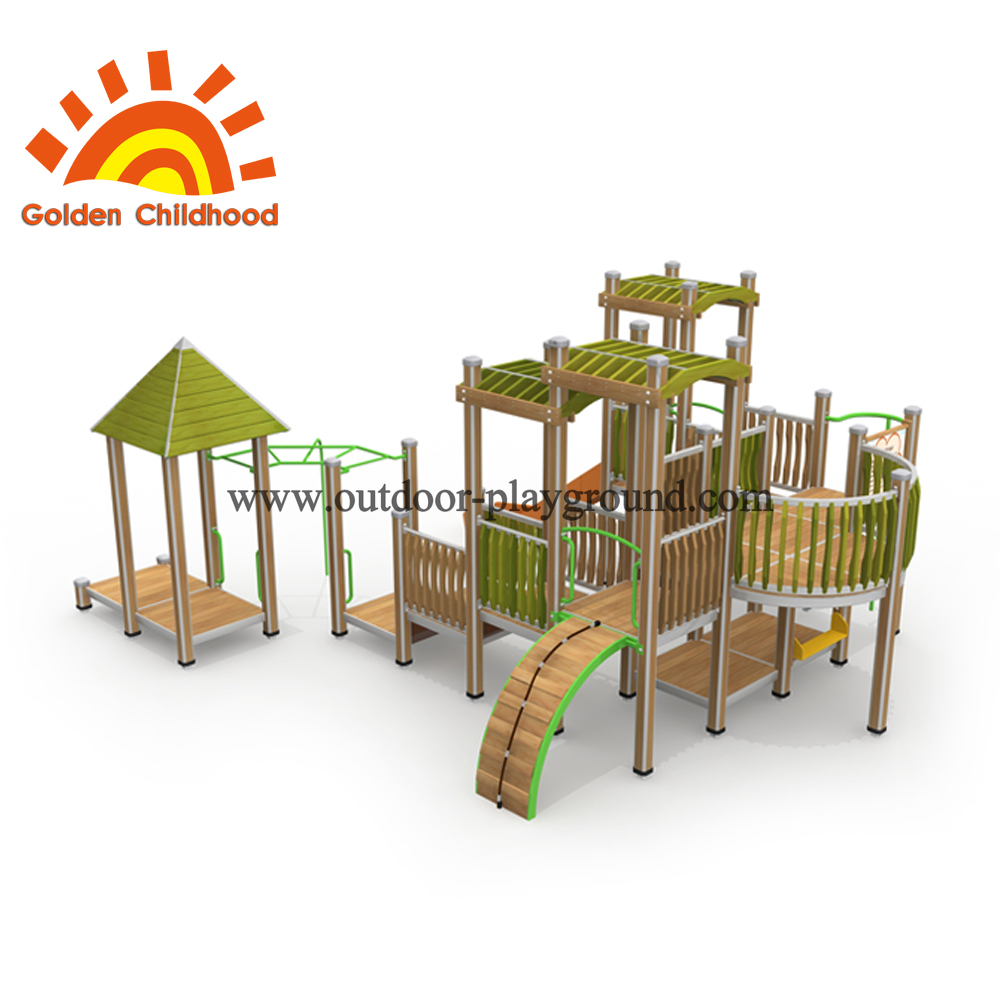 Park Combination Climb Outdoor Playground For Sale