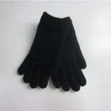 Custom Black Jacquard Magic Handschuhe