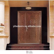 Außentüren aus Edelstahl mit doppelter Schaukel